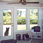 Sunroom 1 Door and Windows, View 2